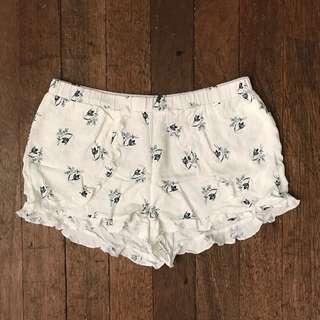 Cherokee Flowy Frill Shorts