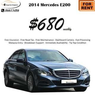 Mercedes-Benz undefined E200 Saloon Auto