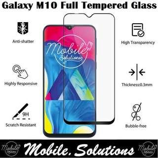 Samsung M10 Full Coverage Tempered Glass Screen Protector