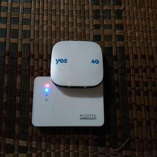 Yes Huddle 4G dan alcatel one touch