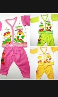 Baju bayi Panjang Warna Warni All size Murah