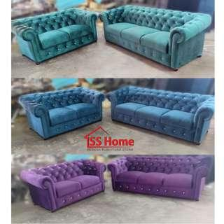 Chesterfield Sofa 2+3 Seater