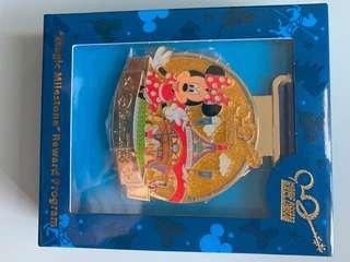 Disney milestone reward program