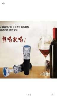 抽真空酒塞,輕鬆拉下酒塞頂蓋就可以將未飲完的酒樽抽真空,方便又易用。