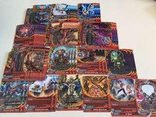 Buddyfight dragon world dimension destroyer playset