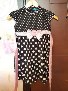 Kidz dress 2pcs 100rb