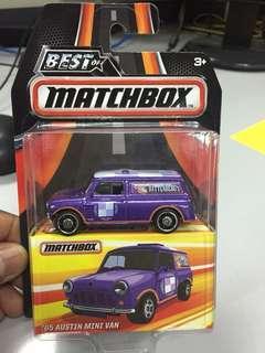 Matchbox Austin minivan