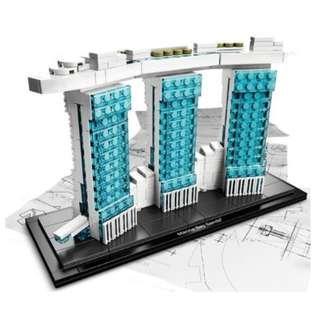**Ready Stock** MOC Architecture Marina Bay Sands ( NOT Lego bricks)