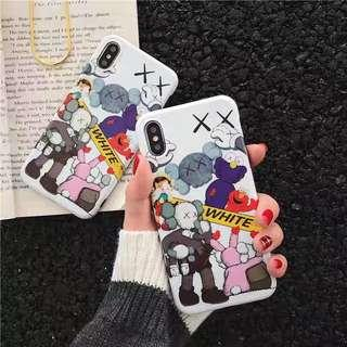 iPhone case手機殼 *半價* 惡攪KAWS手機殼