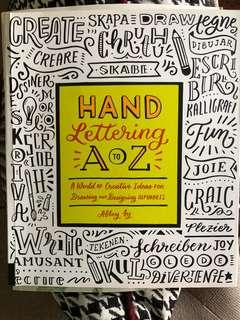 🚚 Hand Lettering A to Z by Abbey Sy