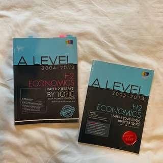 A Level Economics H2 Paper 1 and 2
