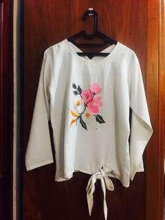 White Top Flower