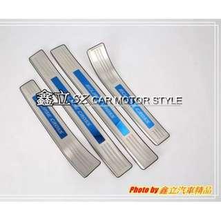 ※ 鑫立汽車精品 ※  ECLIPSE CROSS 17-18年 不銹鋼 藍標 外門檻踏板 外 迎賓踏板 門檻條