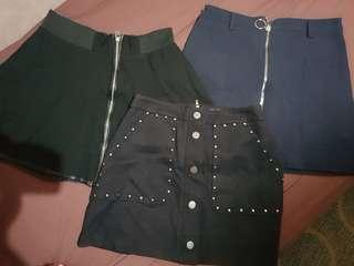 BUY 3 SKIRTS FOR SALE!!!!!