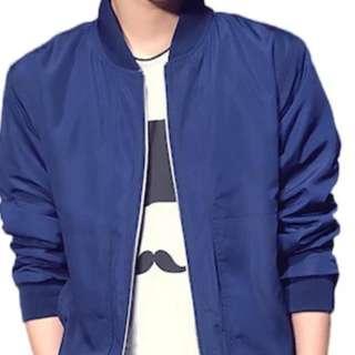 🚚 Men's blue bomber jacket