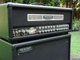 Mesa Boogie Road King II 120W Head - - - Handmade USA Boutique Tube Amp - - - (Marshall Engl Orange Peavey EVH Fender Vox guitar amplifier)