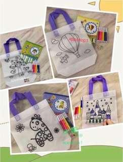🚚 Goodie, Goodies Bag, Gift- DiY Hand Carry Canvas Bag