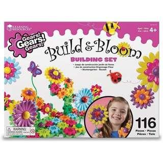 🚚 Build & Bloom Flower Gear set (Learning Resources Kit)