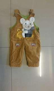Jumpsuit for boy 1 years old with inner thick