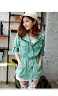 Brandnew green outercoat