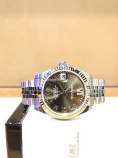 """Brand New Rolex Oyster Datejust 178274 Bronze """"IV"""" Dial Automatic Steel Casing Bracelet"""