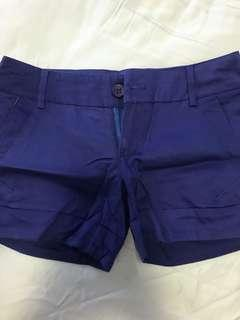 Brand new blue short pant
