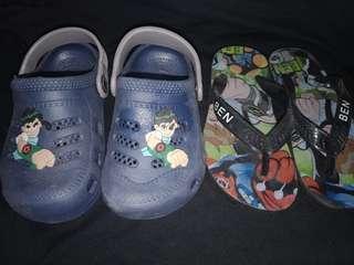 Ben10 baby sandals bundle