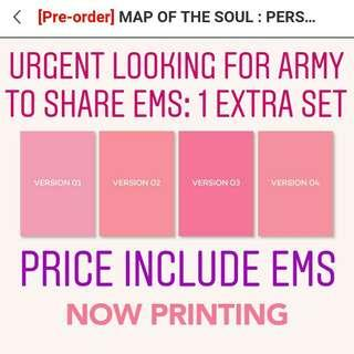 [NON PROFIT PO] BTS MAP OF THE SOUL: PERSONA ALBUM 1 EXTRA SET INCLUDE PO BENEFIT FROM BIGHIT SHOP