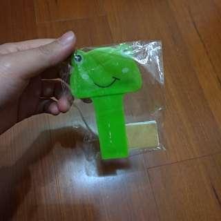 可愛青蛙馬桶蓋手提貼