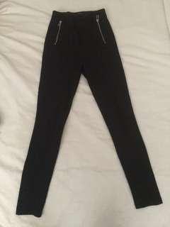 Zara black leggings