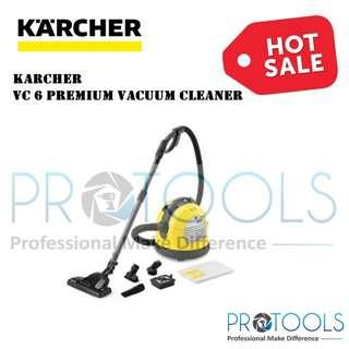 KARCHER VACUUM CLEANER VC 6 PREMIUM - 1 YEAR WARRANTY