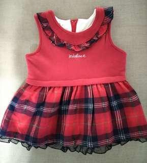 MICHAEL 女童 厚款 舖棉 洋裝