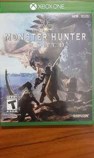 🚚 Monster Hunter World for Xbox one