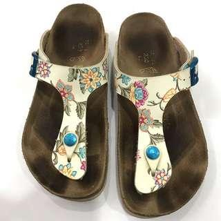 Birkenstock Papillio floral thongs sandals
