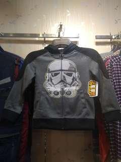 #ibuhebat Jaket Sweater Hoodie Todler Kids Anak Star Wars Original Para Troopers Official