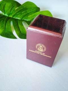 Wooden stationery box (UMS LOGO) #MAKESPACEFORLOVE