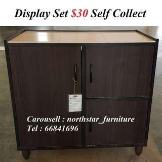 Display Set Kitchen Cabinet