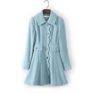Bread n Butter Baby Blue Coat