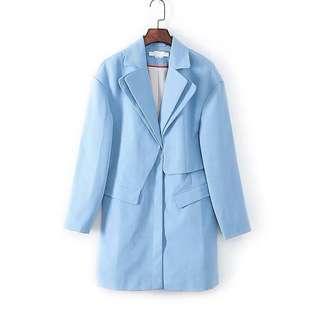 Bread n Butter Baby Blue Blazer / Coat 西裝長外套