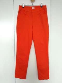 Gorman orange tapered pants