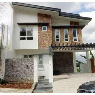 Brand New House For Sale with Pool with Pool & Overlooking View near Church, School, Hospital, Mall