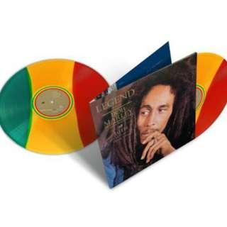 Bob Marley - Legend LP, Brand New, 30th Anniversary, Tri Colour Vinyl
