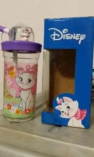 全新Disney迪士尼靚靚富貴貓Marie水杯