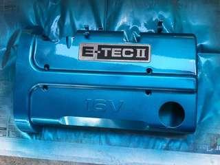 Spraying Engine Covers!