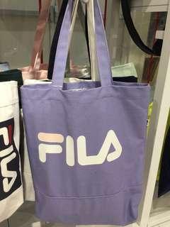 🚚 Fila purple tote bag