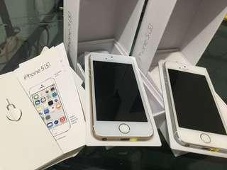 Iphone 5s 32gb and 64gb