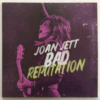 Joan Jett - Bad Reputation Soundtrack LP, (Brand New)