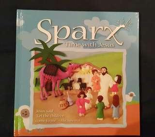 Children book christian Sparx Time with Jesus