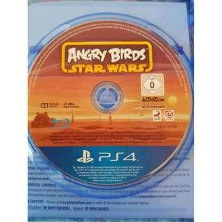 PS4 Angry Birds - Star Wars R3 (Used) - No Box