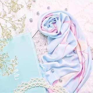 Mumu for Zalora 2017 #marbleseries shawl